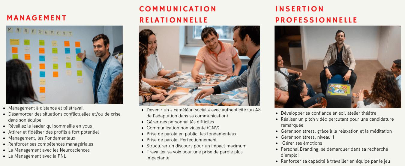 Formation en management, communication et insertion professionnelle à Auxerre